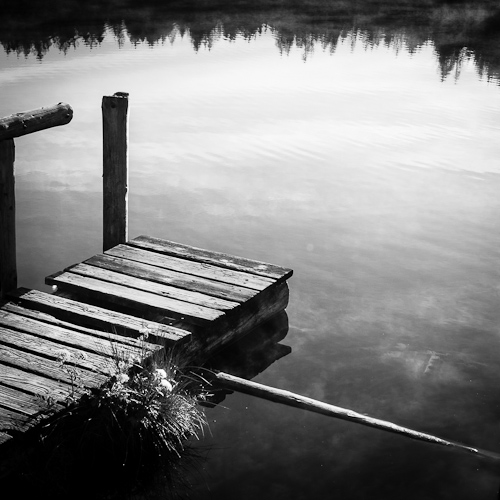 Jetty, L'Etang de la Gruère, Switzerland 2012