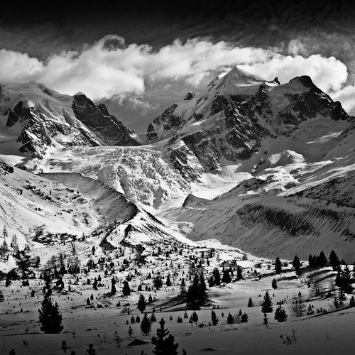 Tschierva Glacier & Piz Roseg, Switzerland 2012
