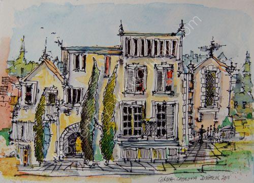Old Building in Girona