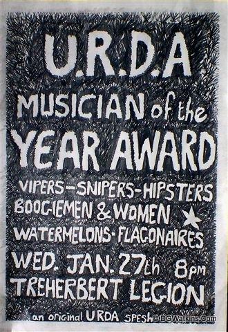 URDA Musician of the Year Award