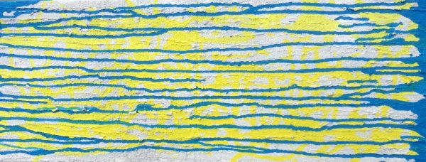 Blue on a Yellow Sea