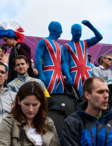 Patriotic Spectators