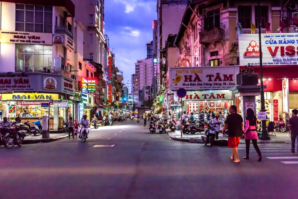Dusk China Town