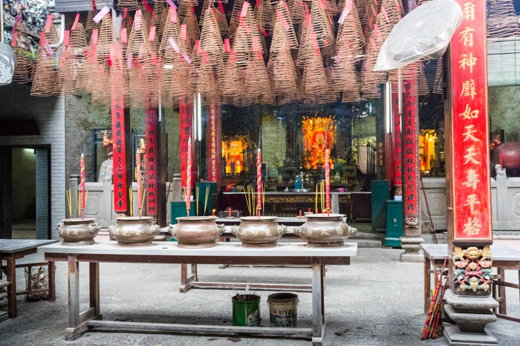 Saigon Chinese Temple China Town