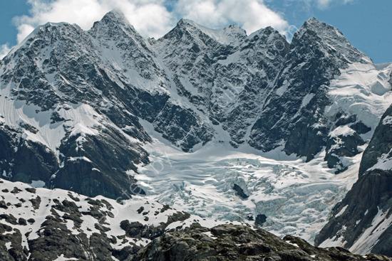 1 of Many Glaciers in Glacier Bay Alaska