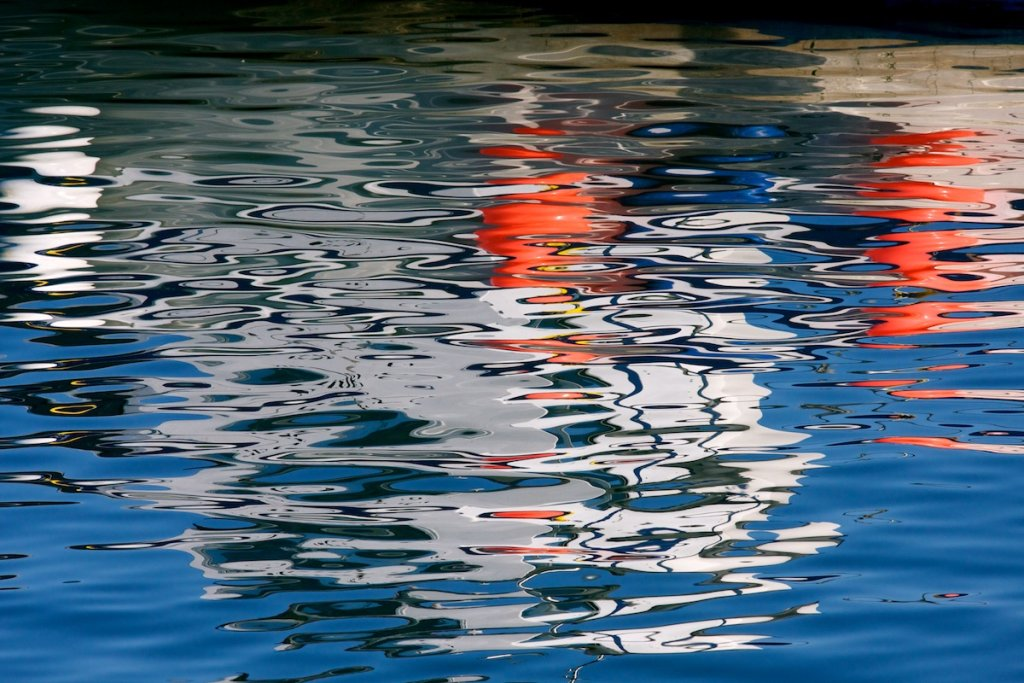 Folkestone Harbour - Reflections