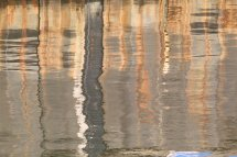 Whitstable Harbour - reflections