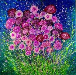 acrylic on canvas, 60x60cm (sold)