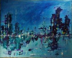 acrylic on canvas, 100x80cm