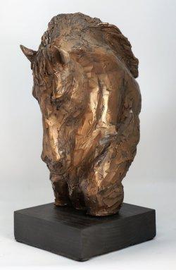 Horse, cold cast bronze