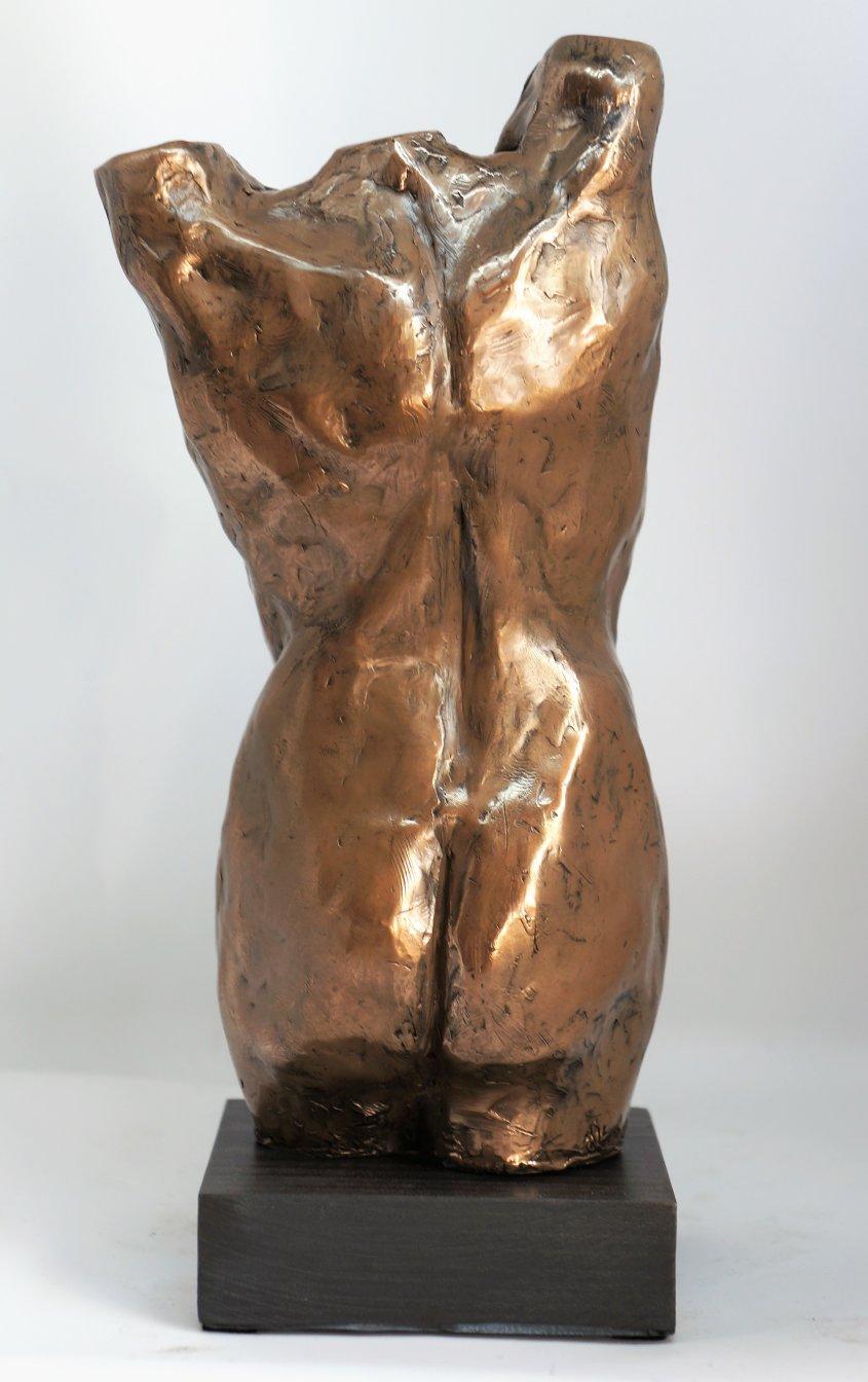 Venus Rising, cold cast bronze