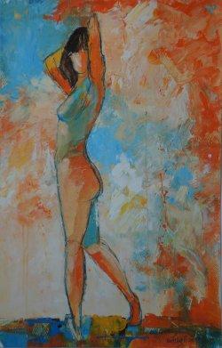 acrylic on paper, 30x50cm