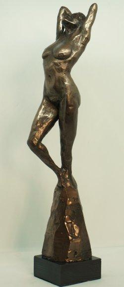 Aphrodite. cold cast bronze, approx 38cm tall