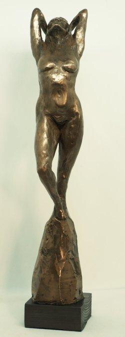 Aphrodite, cold cast bronze, 38cm tall