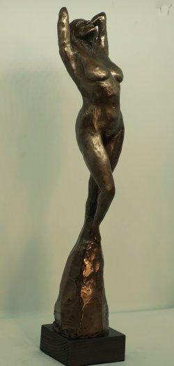 Aphrodite, cold cast bronze, approx 38cm tall