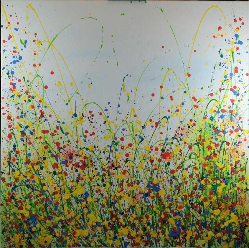 acrylic on canvas, 80x80cm - £375