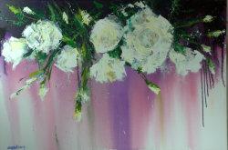 Daisy's Flowers, 130x80cm, oil on canvas (NFS)