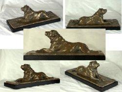 Dug, bronze resin
