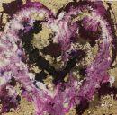 Heart, mixed media - SOLD