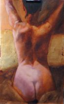 Back, oil on canvas, 60x95cm (sold)
