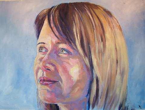 Daisy, oil on canvas, NFS