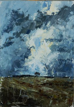 From a Dug Walk 2, oil on board, 20x30cm (sold)