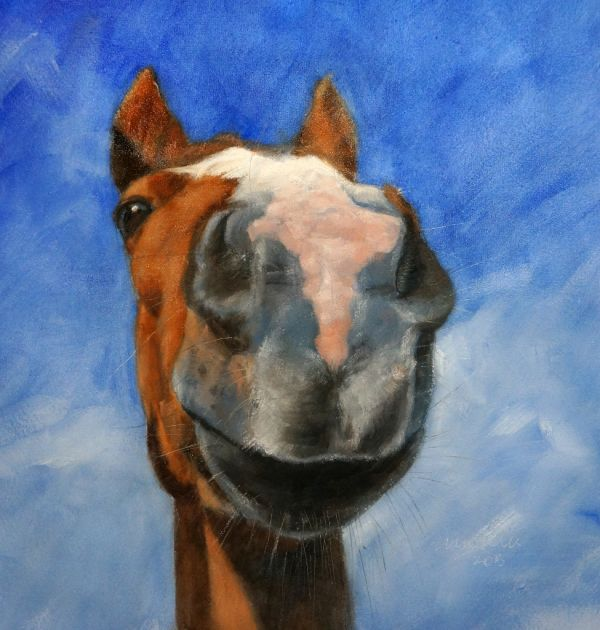 Smile, oil on canvas - SOLD
