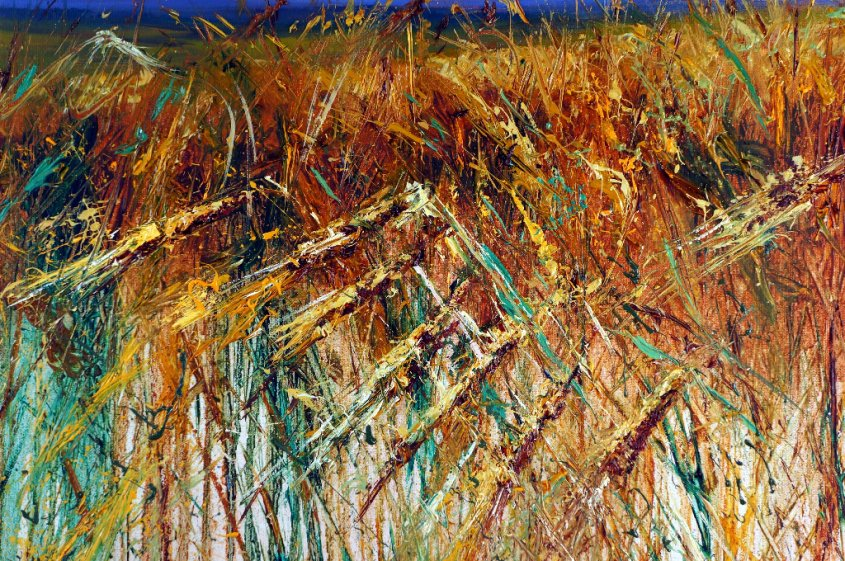Through the Corn 4 - detail