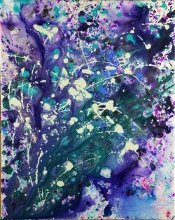 "Untitled, acrylic on canvas, 20x16"""