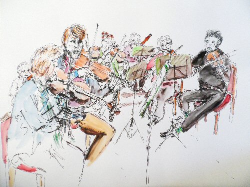 Surrey Philharmonic Rehearsal Nov 2014