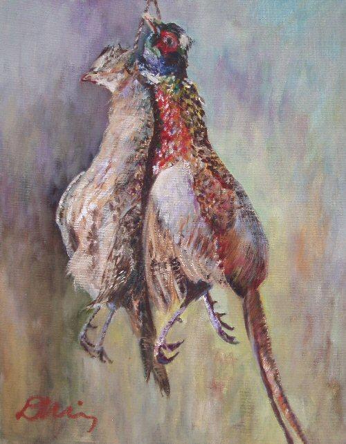 Brace of Pheasant