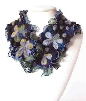 Newest hand dyed scarves for Spring and Summer
