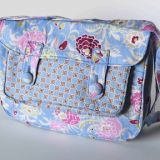 Lavender Flowers Satchel