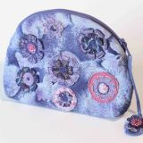 Lavender Flowers Purse/Organiser