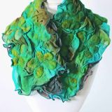 Viola Collection Mossy Violas Scarf
