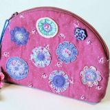 Vintage Flowers Purse/Organiser