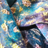 sunrise felted velvet scarf detail
