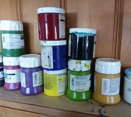 Studio paint pots