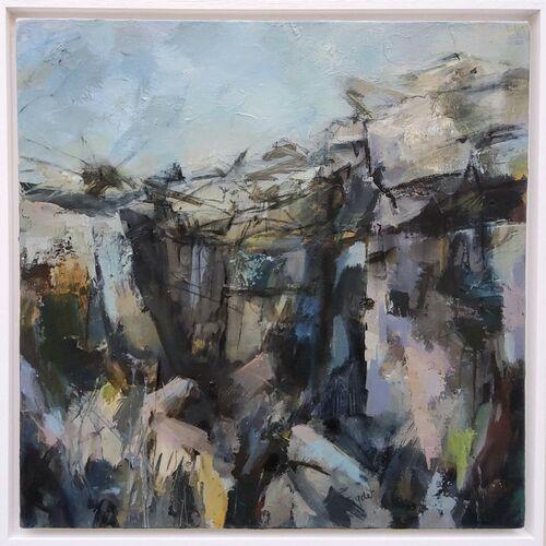 The Climb. Acrylic on canvas 50x50cms £400