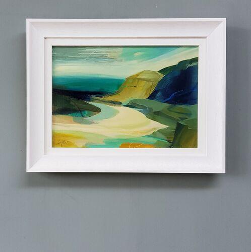 Small Seascape, framed