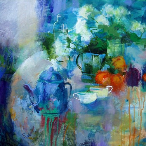 Tea and tangerines