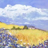 Wheat Fields and Wild Flowers