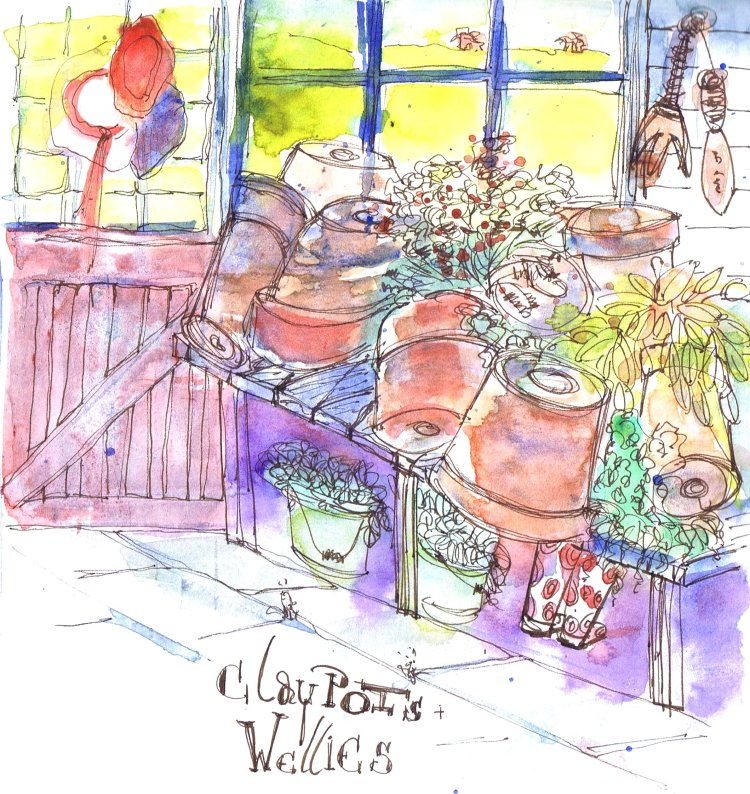 Clay Pots and Wellies