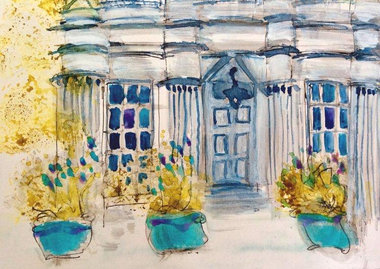 Garden Pots, Southlands House