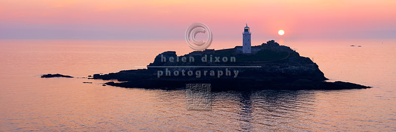 Godrevy Lighthouse Panorama