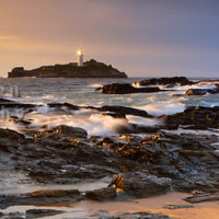 Godrevy Lighthouse Panoramic