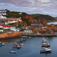 Mevagissey Harbour Panoramic