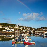 Newlyn Harbour Rainbow