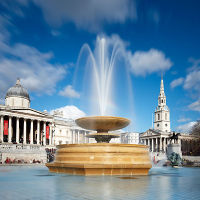 Trafalgar Square Fountains