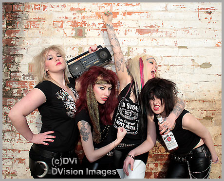 If Motley Crue Were Girls...